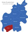 Map Kreis Euskirchen Dahlem