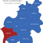 Map Kreis Euskirchen Hellenthal