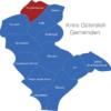 Map Kreis Gütersloh Borgholzhausen