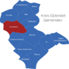 Map Kreis Gütersloh Harsewinkel