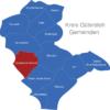 Map Kreis Gütersloh Herzebrock-Clarholz