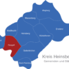 Map Kreis Heinsberg Gangelt