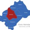 Map Kreis Heinsberg Heinsberg