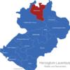 Map Kreis Herzogtum Lauenburg Berkenthin