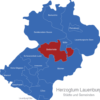 Map Kreis Herzogtum Lauenburg Breitenfelde