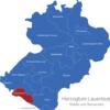 Map Kreis Herzogtum Lauenburg Geesthacht