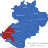 Map Kreis Herzogtum Lauenburg Hohe_Elbgeest