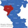Map Kreis Kleve Goch