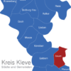 Map Kreis Kleve Issum