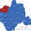 Map Kreis Lippe Bad_Salzuflen