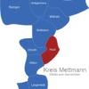 Map Kreis Mettmann Haan