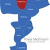 Map Kreis Mettmann Heiligenhaus