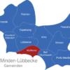 Map Kreis Minden Lübbecke Hüllhorst