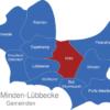 Map Kreis Minden Lübbecke Hille