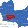 Map Kreis Minden Lübbecke Lübbecke