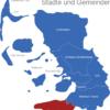 Map Kreis Nordfriesland Eiderstedt