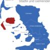 Map Kreis Nordfriesland Fohr-Amrum