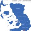 Map Kreis Nordfriesland Friedrichstadt