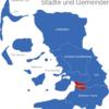 Map Kreis Nordfriesland Husum