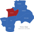 Map Kreis Olpe Attendorn