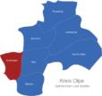 Map Kreis Olpe Drolshagen