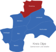 Map Kreis Olpe Finnentrop