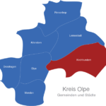 Map Kreis Olpe Kirchhundem