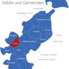 Map Kreis Ostholstein Eutin