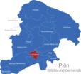 Map Kreis Plön Ascheberg