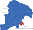 Map Kreis Plön Bosdorf