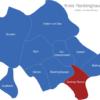 Map Kreis Recklinghausen Castrop-Rauxel