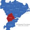 Map Kreis Schleswig Flensburg Arensharde