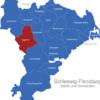 Map Kreis Schleswig Flensburg Eggebek
