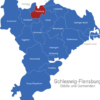 Map Kreis Schleswig Flensburg Flensburg
