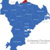 Map Kreis Schleswig Flensburg Glücksburg