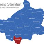 Map Kreis Steinfurt Altenberge