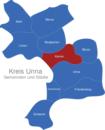 Map Kreis Unna Kamen