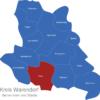 Map Kreis Warendorf Ahlen