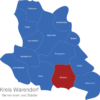 Map Kreis Warendorf Beckum