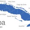 Map Kuba Provinzen Artemisa