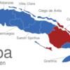 Map Kuba Provinzen Camaguey