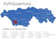 Map Kyffhäuserkreis Abtsbessingen
