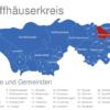 Map Kyffhäuserkreis Artern_x2F_Unstrut