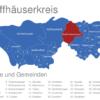 Map Kyffhäuserkreis Bad_Frankenhausen