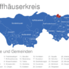 Map Kyffhäuserkreis Borxleben
