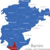 Map Landkreis Barnim Ahrensfelde