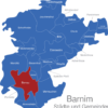 Map Landkreis Barnim Bernau