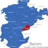 Map Landkreis Barnim Breydin