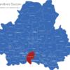 Map Landkreis Bautzen Bischofswerda