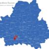 Map Landkreis Bautzen Bretnig-Hauswalde